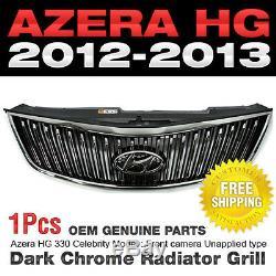 Véritable Capot Avant Pièces Oem Radiateur Chrome Grill Pour Hyundai 12-18 Azera Hg