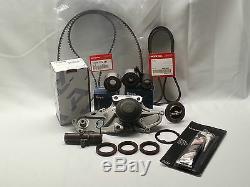 Véritable / Oem Timing Belt Complète Et Pompe À Eau Kit Acura Honda V6 Pièces D'usine