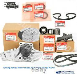Véritable / Oem Timing Belt & Pompe À Eau Kit Fits Honda / Acura V6 Pièces D'