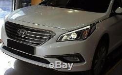 Véritable Pièces Oem Drl Led Head Light Lamp Lh Rh Pour Hyundai I45 Sonata 2015-2017