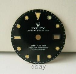 Véritable Rolex Gmt-master Tritium Dial Black 16700 16750 Original Factory Oem
