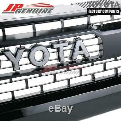 Véritable Toyota Tundra 14-17 Trd Pro Oem (202) Black Front Grille-53100-0c260 C0
