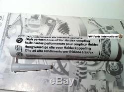 Véritable Vw Golf R32 Mk4 Haldex Filtre À Huile + Huile Haldex Nouveau Oem Vw Haldex Pièces