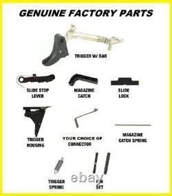 Véritables Pièces De Déclenchement D'usine Glock S'adapte Pf45 Inférieur (choix Du Connecteur)