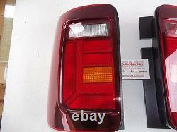 Vw Caddy Facelift Feux Arrières Caddy2k Fumé Teinté Véritable Vw Pièce Détachée New Oem