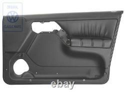 Vw Golf Mk3 Vento Gti Vr6 R/h/f Leather Door Trim Panel New Genuine Oem Part