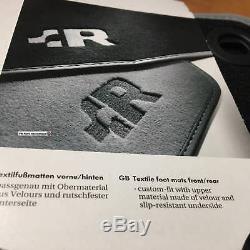 Vw Golf R32 Mk4 Tapis Tapis R Logo Pour Lhd Pièces D'origine Oem Nos
