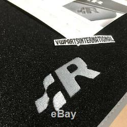 Vw Golf R32 Mk4 Tapis Tapis R Logo Rhd Véritable Oem Pièces Conduite À Droite